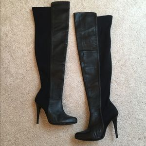 Collin Stuart Over the Knee black boots size 6